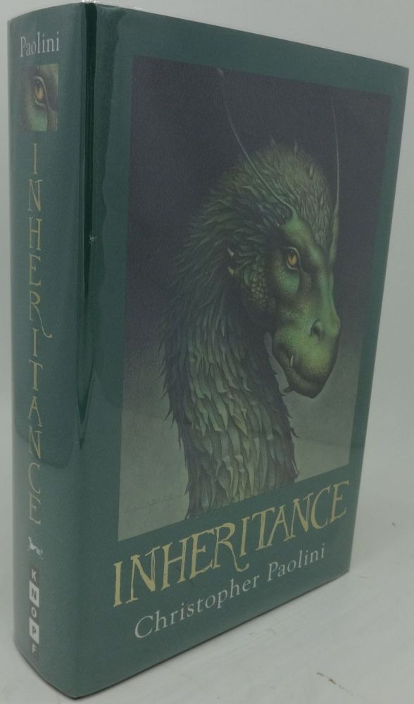 INHERITANCE or THE VAULT OF SOULS (Book Four). Christopher Paolini.