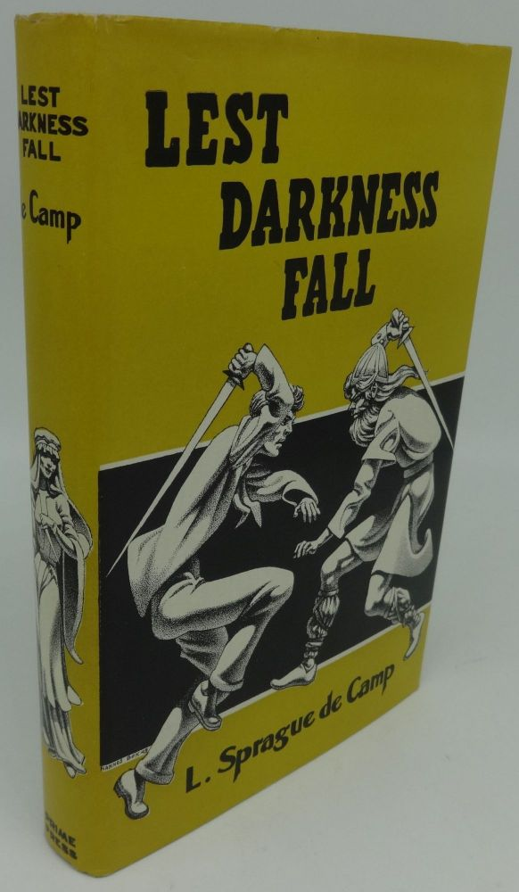 LEST DARKNESS FALL (SIGNED). L. Sprague de Camp.