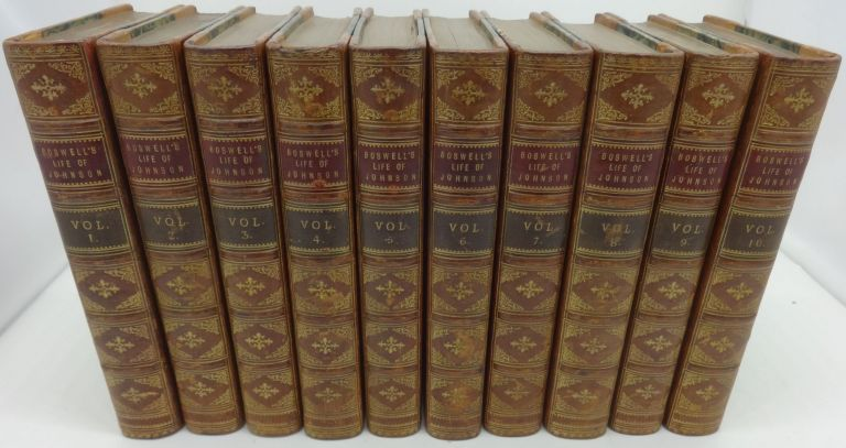 THE LIFE OF SAMUEL JOHNSON, LL.D. INCLUDING A JOURNAL OF THIS TOUR TO THE HERBRIDES; TO WHICH ARE ADDED, ANECDOTES BY HAWKINGS, PIOZZI, MURPHY, TYERS, REYNOLDS, STEEVENS, &C. James Boswell.