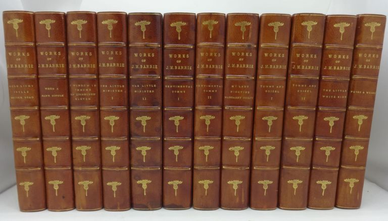 WORKS OF J. M. BARRIE: The Novels, Tales & Sketches [12 vols. complete). J. M. Barrie.