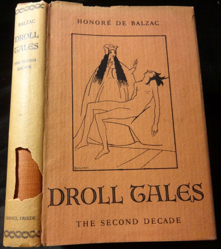 DROLL TALES The Second Decade. Honore De Balzac.