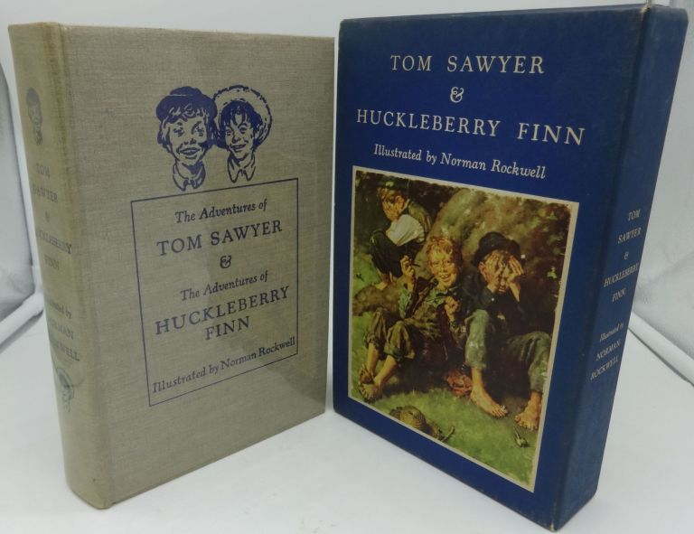 THE ADVENTURES OF TOM SAWYER AND THE ADVENTURES OF HUCKLEBERRY FINN. Samuel L. Clemens.