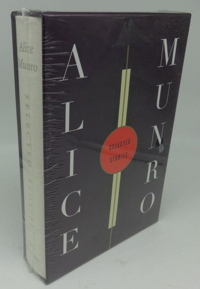 SELECTED STORIES (SIGNED LIMITED). Alice Munro.