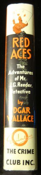 RED ACES. Edgar Wallace.