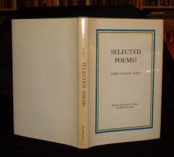 SELECTED POEMS. Ford Madox Ford.