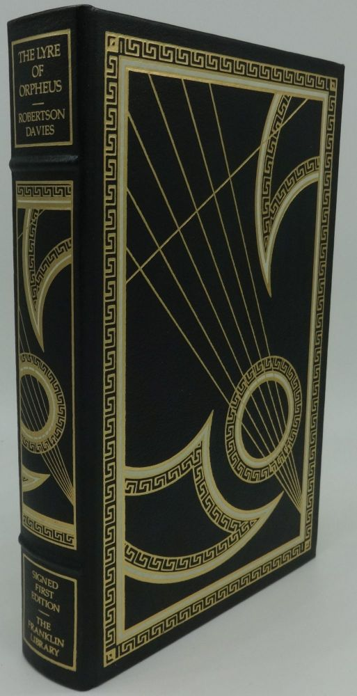THE LYRE OF ORPHEUS. Robertson Davies, SIGNED.