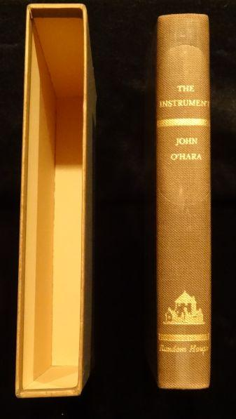 THE INSTRUMENT. John O'Hara.