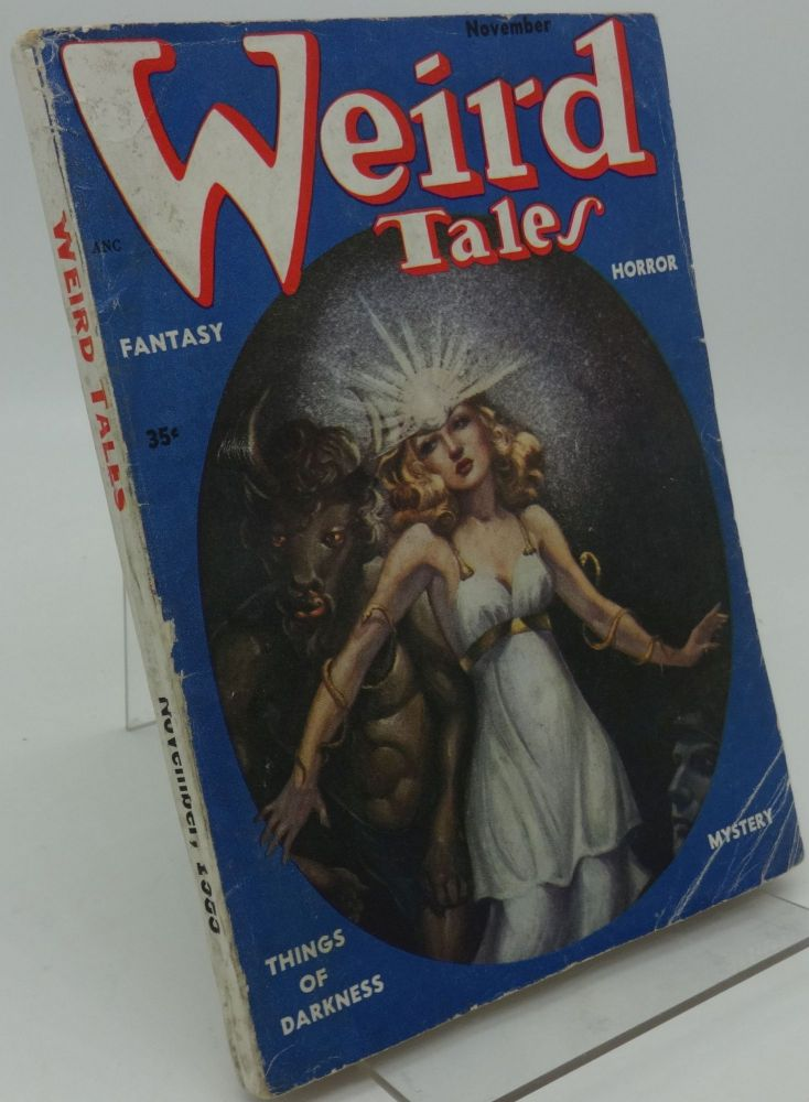 WEIRD TALES, November, 1953 Vol. 45, No. 5. August Derleth Robert Howard.