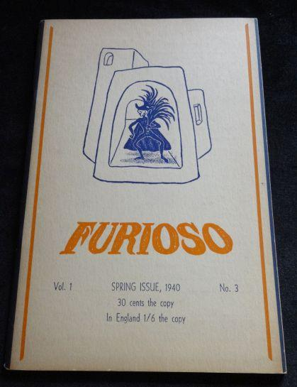 FURIOSO Vol. One Spring Issue, No. Three