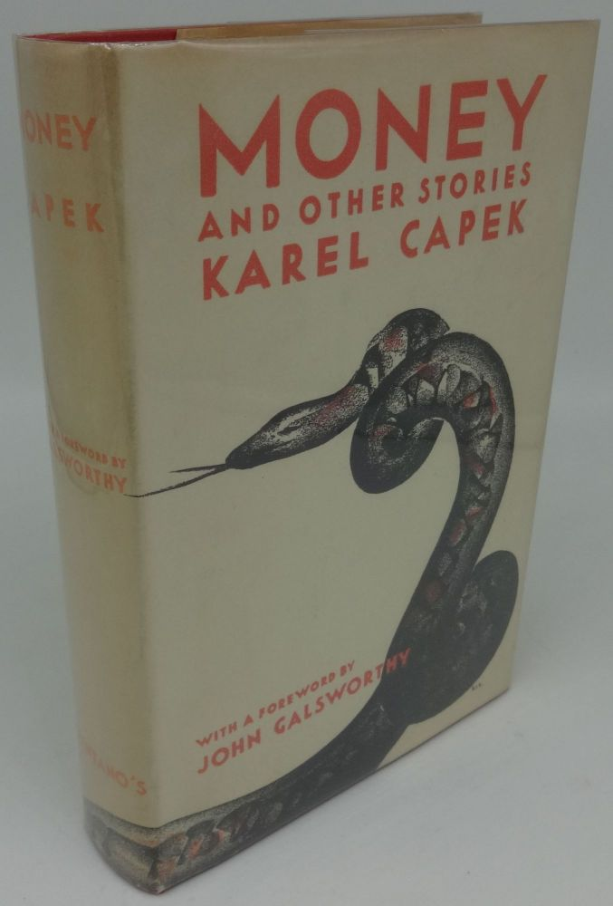 MONEY AND OTHER STORIES. Karel Capek.