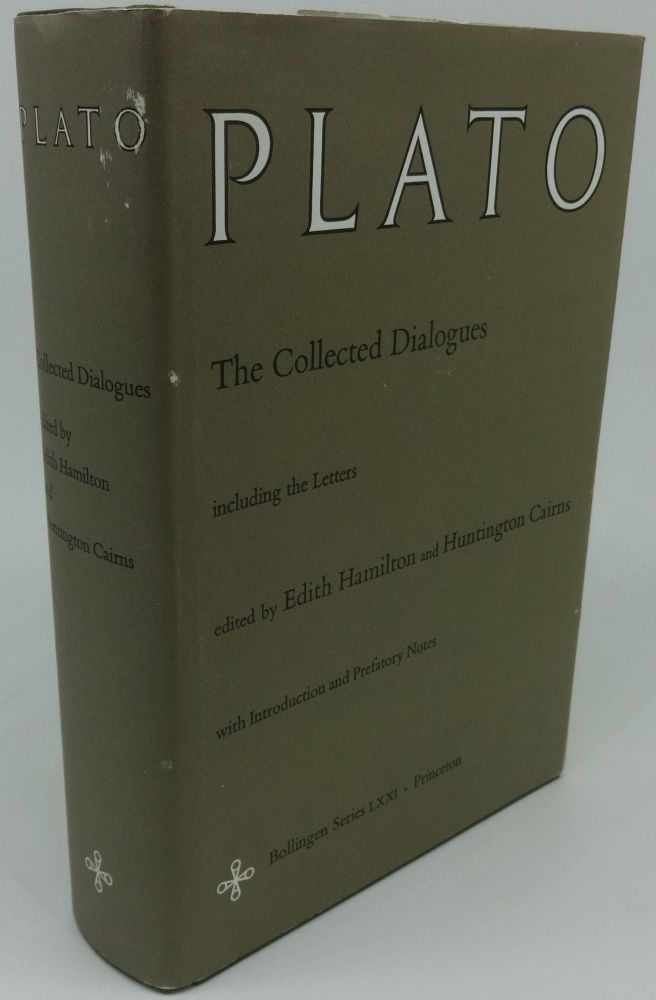 PLATO: The Collected Dialogues including Letters. Plato, Edith Hamilton, Huntington Cairns.