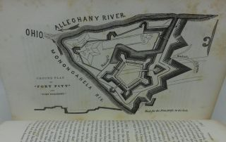 HISTORY OF THE DISCOVERY AND SETTLEMENT OF THE VALLEY OF THE MISSISSIPPI (Two Volumes, Three Maps)