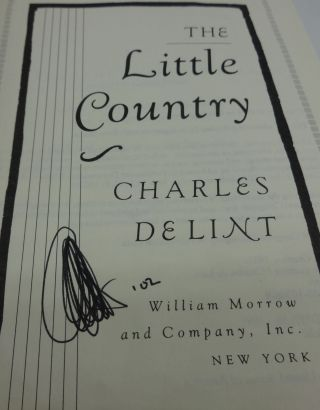 THE LITTLE COUNTRY (SIGNED)