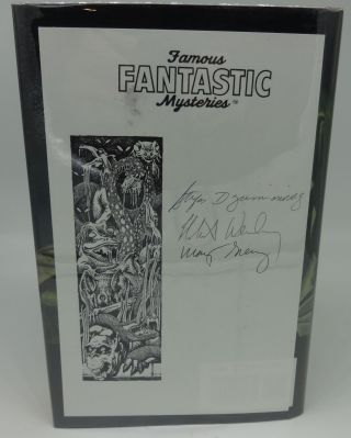 FAMOUS FANTASTIC MYSTERIES (SIGNED BY ALL THREE EDITORS.)