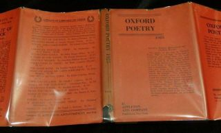 OXFORD POETRY 1925