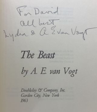 THE BEAST (SIGNED/INSCRIBED)
