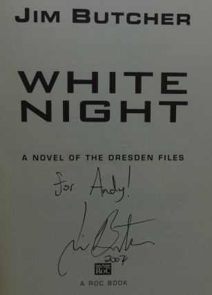WHITE NIGHT (SIGNED)