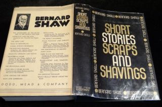 SHORT STORIES SCRAPS AND SHAVINGS. Bernard Shaw