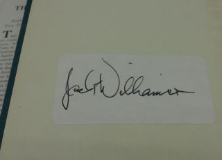 THE LEGION OF TIME (SIGNED BOOKPLATE)