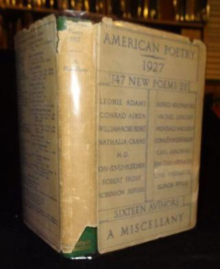 AMERICAN POETRY 1927 A MISCELLANY