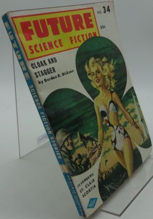 FUTURE SCIENCE FICTION No. 34 1957. Silverberg Gordon R. Dickson.
