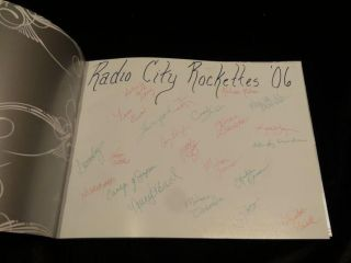 THE RADIO CITY ROCKETTES: A DANCE THROUGH TIME (Signed)