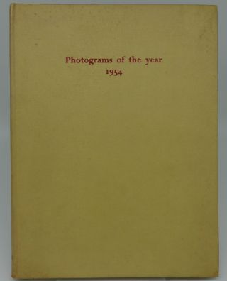PHOTOGRAMS OF THE YEAR 1954. Bertram Sinkinson