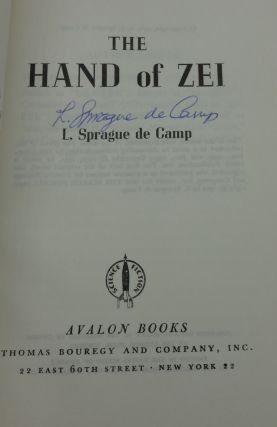THE HAND OF ZEI (SIGNED)