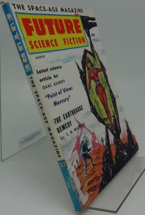 FUTURE SCIENCE FICTION No. 38 August 1958. T. H. Mathieu, Isaac Asimov
