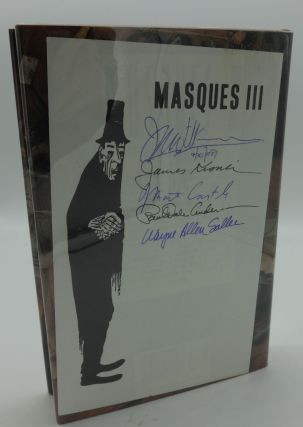 MASQUES III (SIGNED BY FIVE CONTRIBUTORS). J. N. Williamson