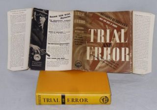 TRIAL AND ERROR. Anthony Berkeley