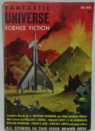 FANTASTIC UNIVERSE SCIENCE FICTION OCTOBER/NOVEMBER 1953. Chandler, West, Kornbluth, Dick.