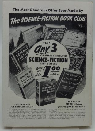 INFINITY SCIENCE FICTION June 1957