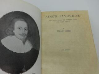 KING'S FAVOURITE The Love Story of Robert Carr and Lady Essex