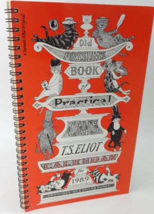 OLD POSSUM'S BOOK OF PRACTICAL CATS CALENDAR FOR 1989 (SIGNED). Edward Gorey, T. S. Eliot