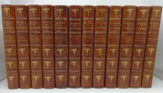 WORKS OF J. M. BARRIE: The Novels, Tales & Sketches [12 vols. complete). J. M. Barrie