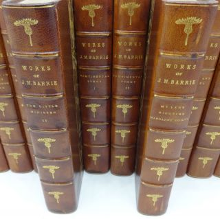 WORKS OF J. M. BARRIE: The Novels, Tales & Sketches [12 vols. complete)