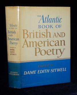 THE ATLANTIC BOOK OF BRITISH AND AMERICAN POETRY. Edith Sitwell, SIGNED.