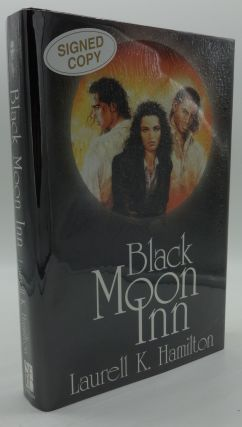 BLACK MOON INN (SIGNED) Inc. Poster. Laurell K. Hamilton