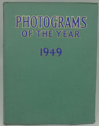 PHOTOGRAMS OF THE YEAR 1949. Edited, Percy W. Harris
