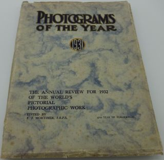PHOTOGRAMS OF THE YEAR 1931. F. J. Mortimer.
