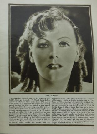 SCREEN ROMANCES: LIFE STORIES OF THE STARS (1930)