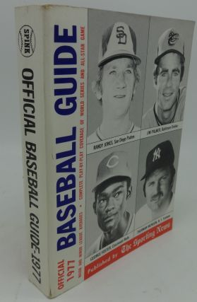 OFFICIAL BASEBALL GUIDE 1977