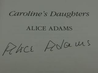 CAROLINE'S DAUGHTERS (SIGNED)