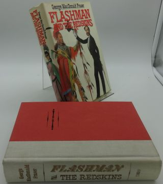 FLASHMAN AND THE REDSKINS. George MacDonald Fraser.