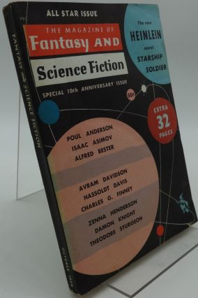 THE MAGAZINE OF SCIENCE FICTION (Special 19th Anniversary Issue) October 1959 Vol. 17 No. 4. Robert Heinlein, Isaac Asimov, Poul Anderson, Theodore Sturgeon, Damon Knight, Others.