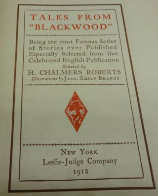 TALES FROM BLACKWOOD (Four Volumes)