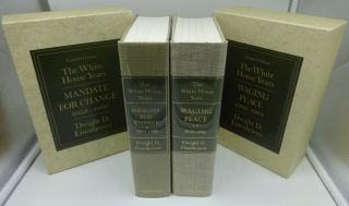 THE WHITE HOUSE YEARS MANDATE FOR CHANGE (1953-1956) AND WAGING PEACE (1956-1961) (SIGNED LIMITED EDITION)