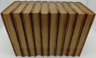 THE WORKS OF ALFRED LORD TENNYSON (Ten Volumes, Farringford Edition)