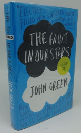 THE FAULT IN OUR STARS (SIGNED). John Green